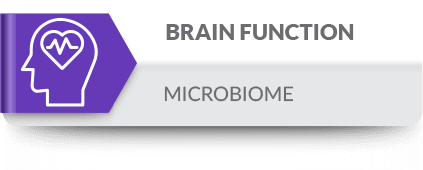 The microbiome plays a role in mental health and neurological conditions such as autism, epilepsy, and depression
