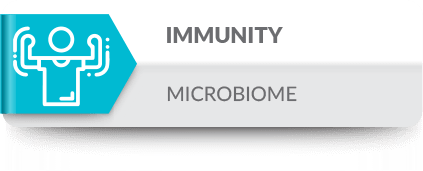 Microbiome and the immune system are constantly shaping each other, in a mutual aim to thrive, defining the unstable equilibrium of the healthy individual.